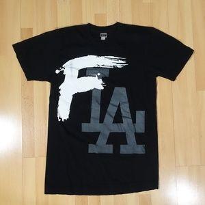F LA Paper Root Shirt